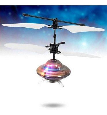 Mini Drone Controle Remoto 2 Funções Ufo Flying