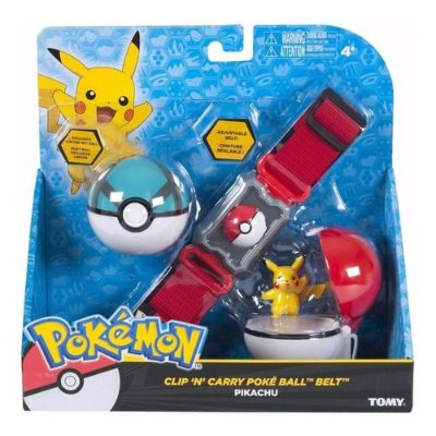 Pokemon Kit De Ação Cinto Com 2 Pokebolas E Personagem