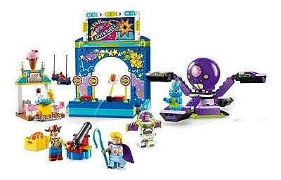 Lego Toy Story 4 - Carnaval Do Woody E Buzz Parque Diversão