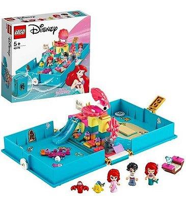 Lego Disney Princesas Livro De Contos Da Ariel 105 Pcs