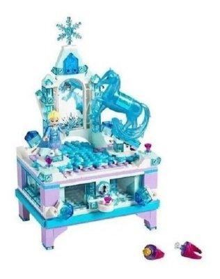 Lego Disney Frozen 2 A Criação Do Porta-joias Da Elsa