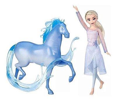 Boneca Princesas Disney Frozen 2 Elsa E Cavalo