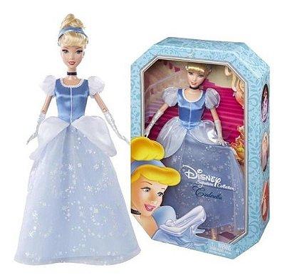Boneca Disney Signature Cinderela Clássica Edição Especial