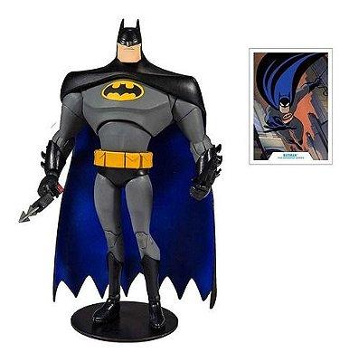 Figura Batman - Dc Multiverse - Liga Da Justiça - 18 Cm