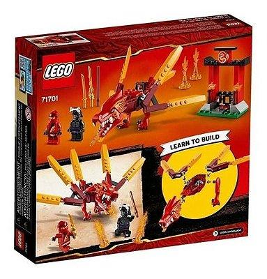Lego Ninjago Dragão De Fogo Do Kai - Original 81 Pçs