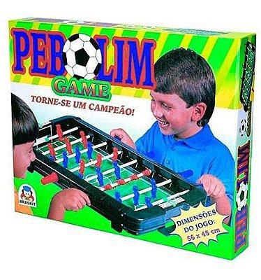 Totó Pebolim Futebol Super Craque Infantil Portatil