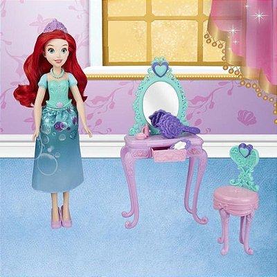 Boneca Disney Princess Penteadeira Da Ariel De Luxo