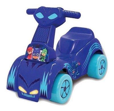Carrinho Andador Scoot PJ Masks Menino Gato