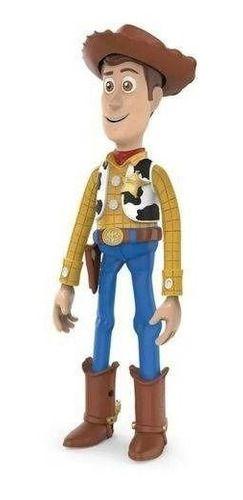 Boneco Woody Toy Story 4 De 30 Cm Articulado C/ Chapéu