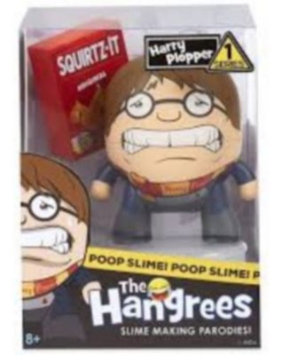 Boneco Harry Plopper Poop Slime The Hangrees Series 1