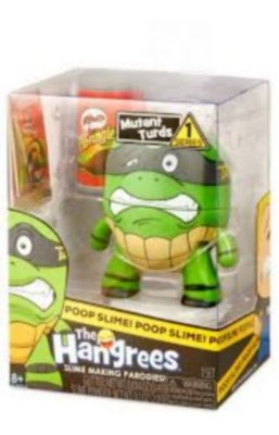 Boneco Mutant Turds Poop Slime The Hangrees Series 1