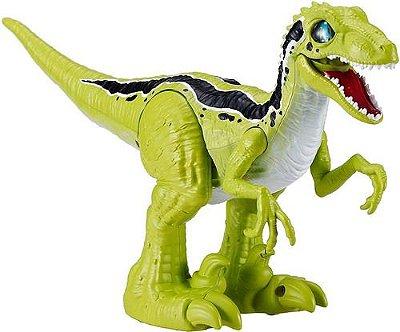 Dinossauro Robô Alive Raptor - Ovo Slime Verde