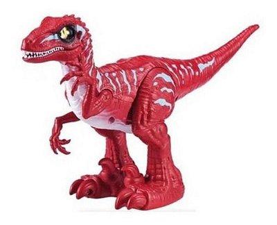 Dinossauro Robô Alive Raptor - Ovo Slime Vermelho