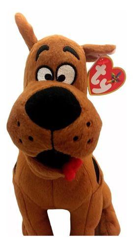 Pelúcia Cachorro Scooby Doo Pequeno Ty