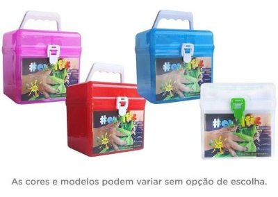 Kit Fabriquinha Fabrica De Slime - Eu Que Fiz - Glitter
