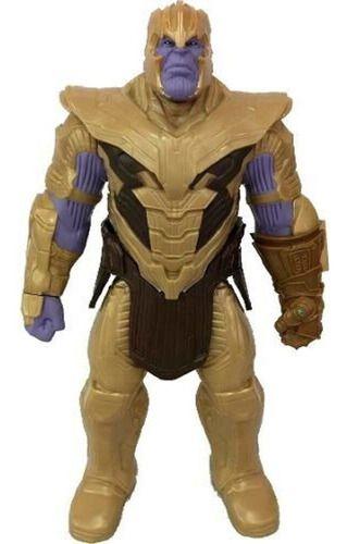 Boneco Thanos Com Armadura Vingadores Ultimato