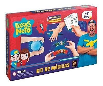 Jogo Kit De Mágicas Luccas Neto Baixinhos 10 Magicas