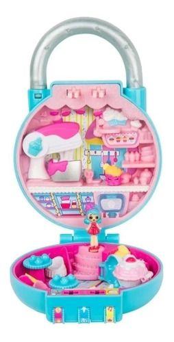 Mini Shopkins Lil Secret Cadeado Confeitaria Cupcakes