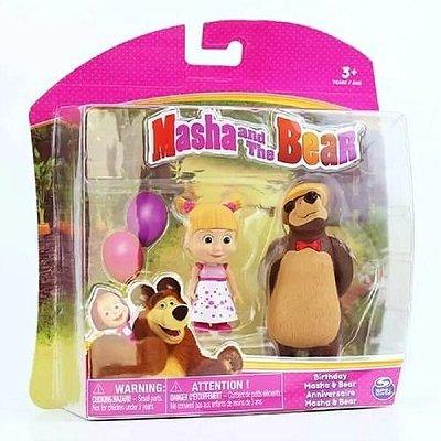 Boneca Masha E O Urso Aniversário 1473