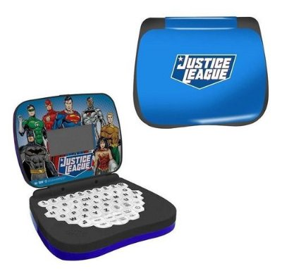 Laptop Infantil Liga Da Justiça Brinquedo Educativo