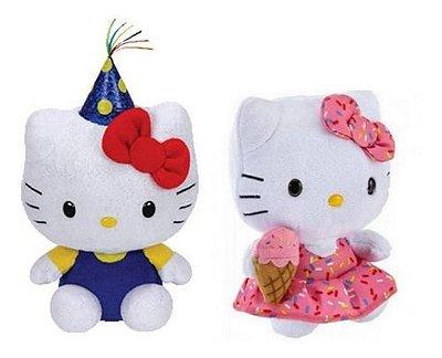 Kit Hello Kitty 2 Pelúcias - By Sanrio Lindas