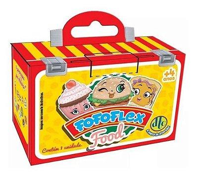Mini Surpresas Colecionaveis Fofoflex Food Chaveiro