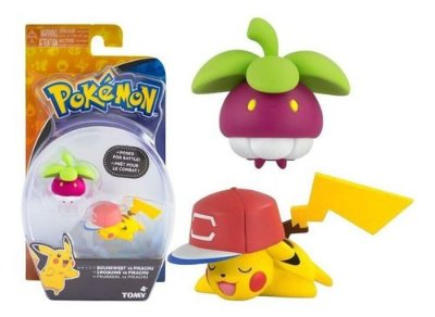 Boneco Pokemon Figuras De Açao Bounsweet Pikachu