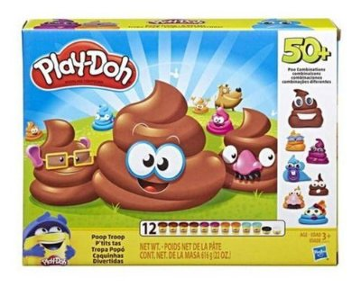 Play Doh Conjunto Massinha Caquinha Divertida 12 Potes