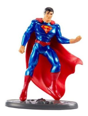 Boneco Superman Liga Da Justiça Mini Figuras 7 Cm