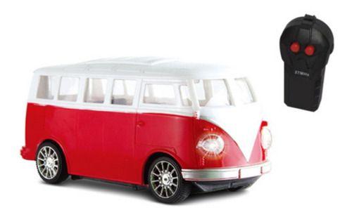 Carrinho Controle Remoto Garagem S.a. Furgão Vermelho