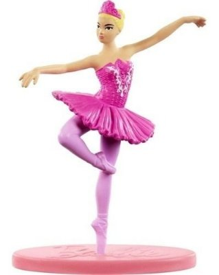 Bonequinha Barbie Mini Bailarina Colecionável 7 Cm