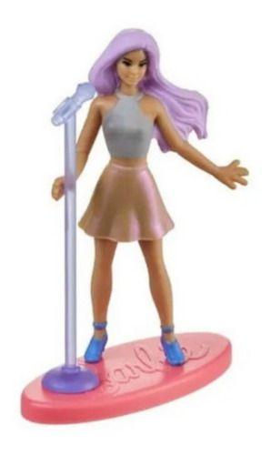 Bonequinha Barbie Mini Pop Star Colecionável 7 Cm