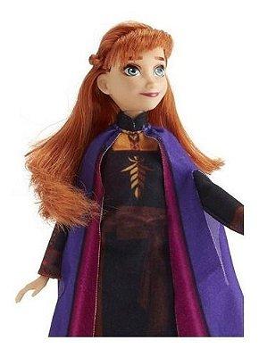 Boneca Anna Frozen 2 Disney - 30 Cm - Vestido Encantado