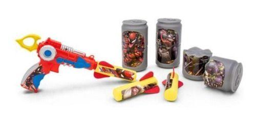 Lança Foguetes Com Alvo Homem Aranha Marvel