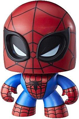 Boneco Marvel Vingadores Mighty Muggs Homem Aranha 3 Faces