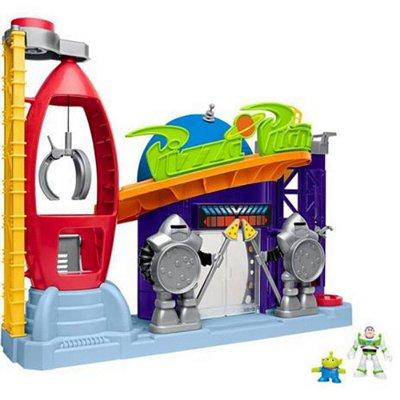 Playset 41 Cm Disney Toy Story Pizza Planet Imaginext