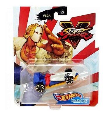 Carro Hot Wheels - Street Fighter - Capcom - Vega