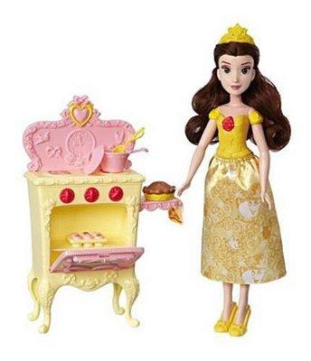 Boneca Princesa Disney - Cozinha Real Da Bela Acessório