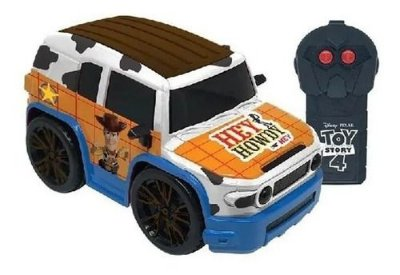 Carro RC Toy Story Woody Disney E Pixar