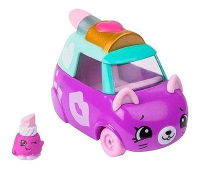 Batamóvel Kissy Cab Cutie Cars Série 2 Shopkins