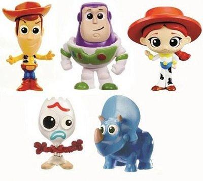 Conjunto Mini Figuras Disney Toy Story 4 C 5 Personagens