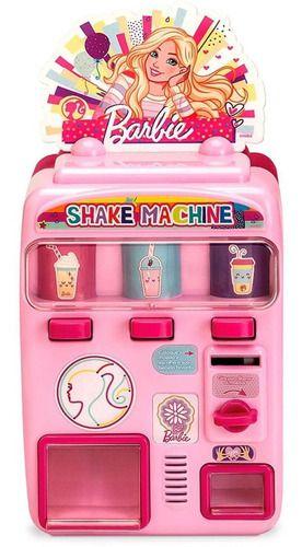 Máquina De Shake Com Sons E Luzes Da Barbie Acessórios