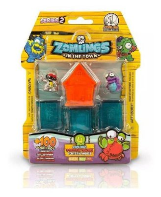 Boneco Zombie Zomlings In The Town Bairro Surpresa