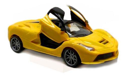 Carrinho RC Lamborghini Abre Portas Amarelo
