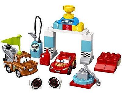 Lego Duplo Dia Da Corrida Do Relâmpago Mcqueen 42 Pçs