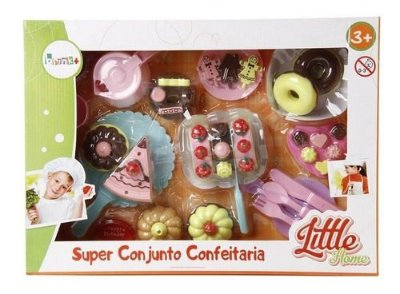 Conjunto Fast Food De Doces Biscoitos Little Home