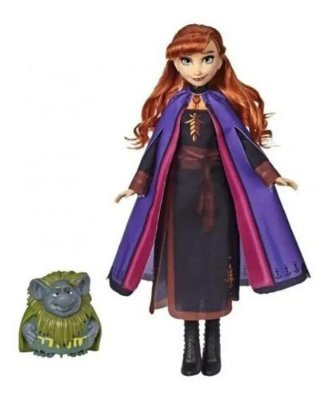 Boneca Frozen 2 Disney Anna E Vovô Pabbie 30 Cm