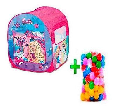 Barraca Barbie Dreamtopia Mundo Sonhos + 25 Bolinha