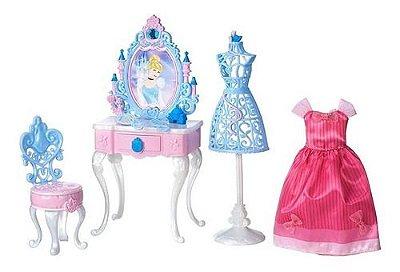 Cenário Penteadeira Encantada Cinderela Princesa Disney