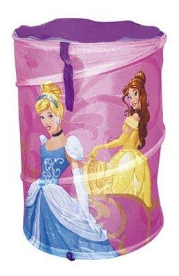 Cesto Princesas Porta Brinquedos Disney Ariel Cinderela